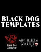 Black Dog Game Factory Templates