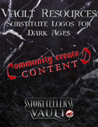 Vault Resources: Substitute Logos for Dark Ages