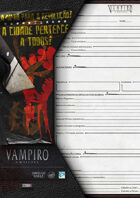 VtM- City Worksheet for the Anarchs [V20/4th Edition]
