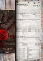 DARK AGES: VAMPIRE Character Sheets [2nd Edition]