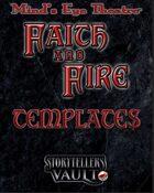 Minds Eye Theatre: Faith & Fire