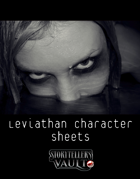 Leviathan Character Sheets for The Darkest Timeline
