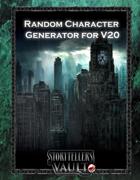 Random Character Generator for V20