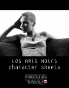 Les Amis Noirs Character Sheets for The Darkest Timeline