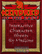 MrGone's Kindred of the East Interactive Character Sheets