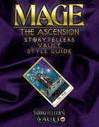 Mage: The Ascension Storytellers Vault Style Guide