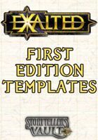 Exalted 1st Edition Templates