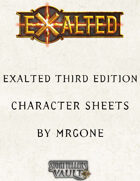 MrGone's Exalted Third Edition Character Sheets