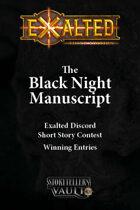 The Black Night Manuscript - Short Story Contest Winners