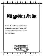 Nomenclator - v. Español