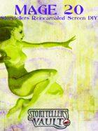 Mage 20th Anniversary Storyteller´s Screen Reincarnated