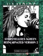 Vampire 20th Storyteller´s Screen 2.0 Reincarnated