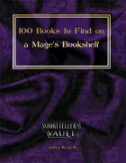 100 Books to Find on a Mage's Bookshelf