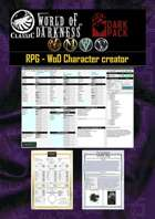 WoD Character creator