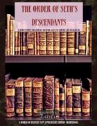 The Order of Seth's Descendants (Mephisto Chronicles)