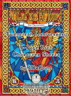 MrGone's Changeling the Dreaming Twentieth Anniversary Edition 4-Page Kith Character Sheets