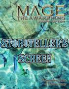 Mage the Awakening 2nd Edition Storyteller's Screen