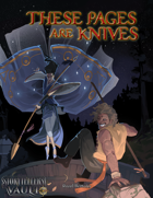 These Pages Are Knives: Peacock Style