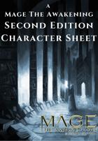 MtA2e Character Sheets
