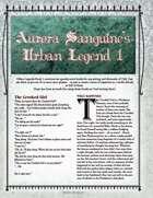 Aurora Sanguine's Urban Legend 1