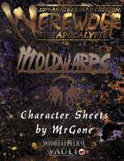 MrGone's Breedbook: Moldwarps Character Sheets