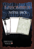 Lasombra Notes Pack