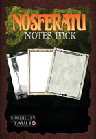 Nosferatu Notes Pack