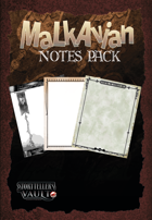 Malkavian Notes Pack