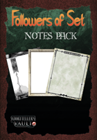 Followers of Set Notes Pack