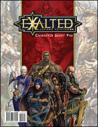 Exalted Second Edition: Character Sheet Pad