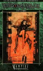 Clan Novel Trilogy: Tremere Book 1 - Widow's Walk