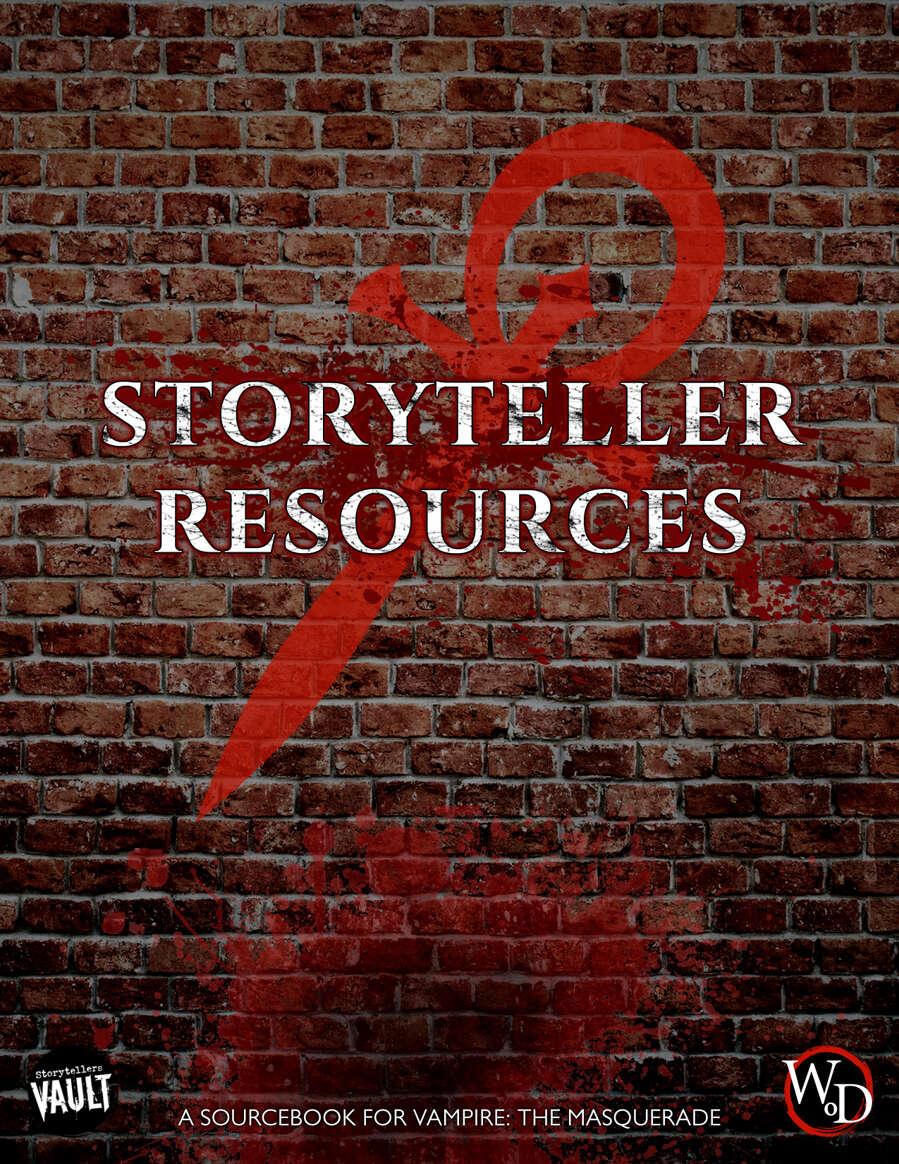 V5 Storyteller Resources
