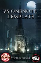V5 OneNote Template