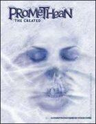 Promethean: The Created Character Sheet Pad