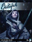 Epitaph #1 (Spring 2009)