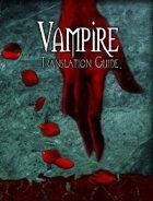 Vampire Translation Guide