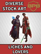 Diverse Stock Art - Liches and Lovers
