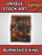 Unique Stock Art - Burnished King