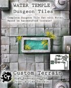 Water Temple Dungeon Tiles Set