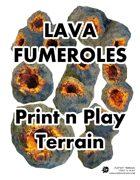 Lava Fumeroles