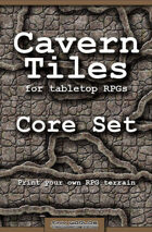 Cavern Tiles - Core Set - RPG Game Tiles