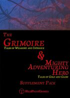 Grimoire and Mighty Adventuring Hero - Supplement Pack