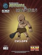 The Manual of Mutants & Monsters: Cyclops