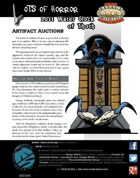 Lots of Horror: The Lost Water Clock of Thoth