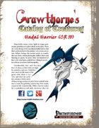 Crawthorne's Catalog of Creatures: Hadal Harrier