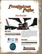 Prestigious Paths: Sin Hunter