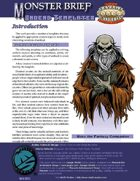 Monster Brief: Undead Templates