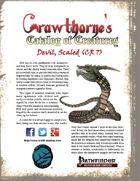 Crawthorne's Catalog of Creatures: Scaled Devil
