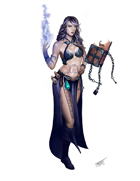 Quico Vicens Picatto Presents: Sorceress Scholar