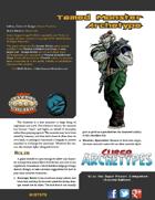 Super Archetypes: Tamed Monster